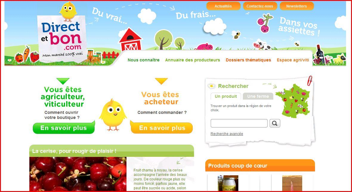 Une banque fran aise qui vend des fruitset l gume a pose for Vente jardinerie en ligne