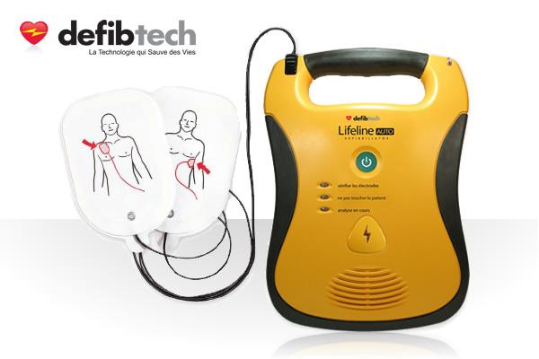 defibtech-defibrillateur-lifeline-auto-avec-ses-electrodes